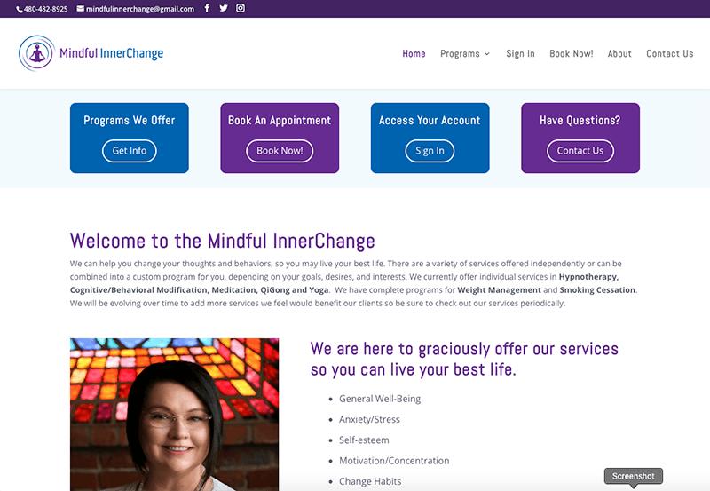 Mindful InnerChange Web Site