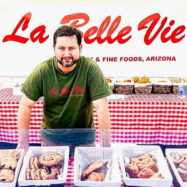 Nathas Kraus of La Belle Vie Bakery
